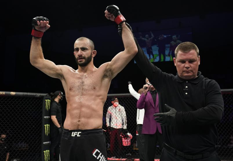 stead of celebrating a middle of fight week birthday, Giga Chikadze's 32nd birthday came with bad news