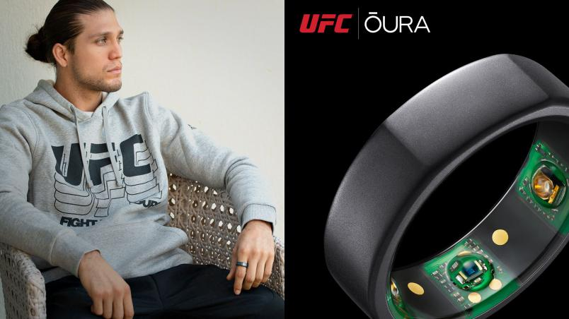 OURA RING: THE ONLY RING FOR THE OCTAGON
