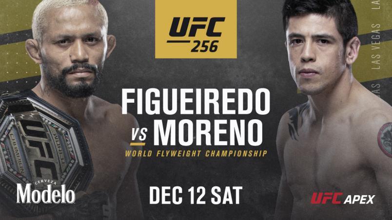 Figueirdo vs Moreno Bout announcement