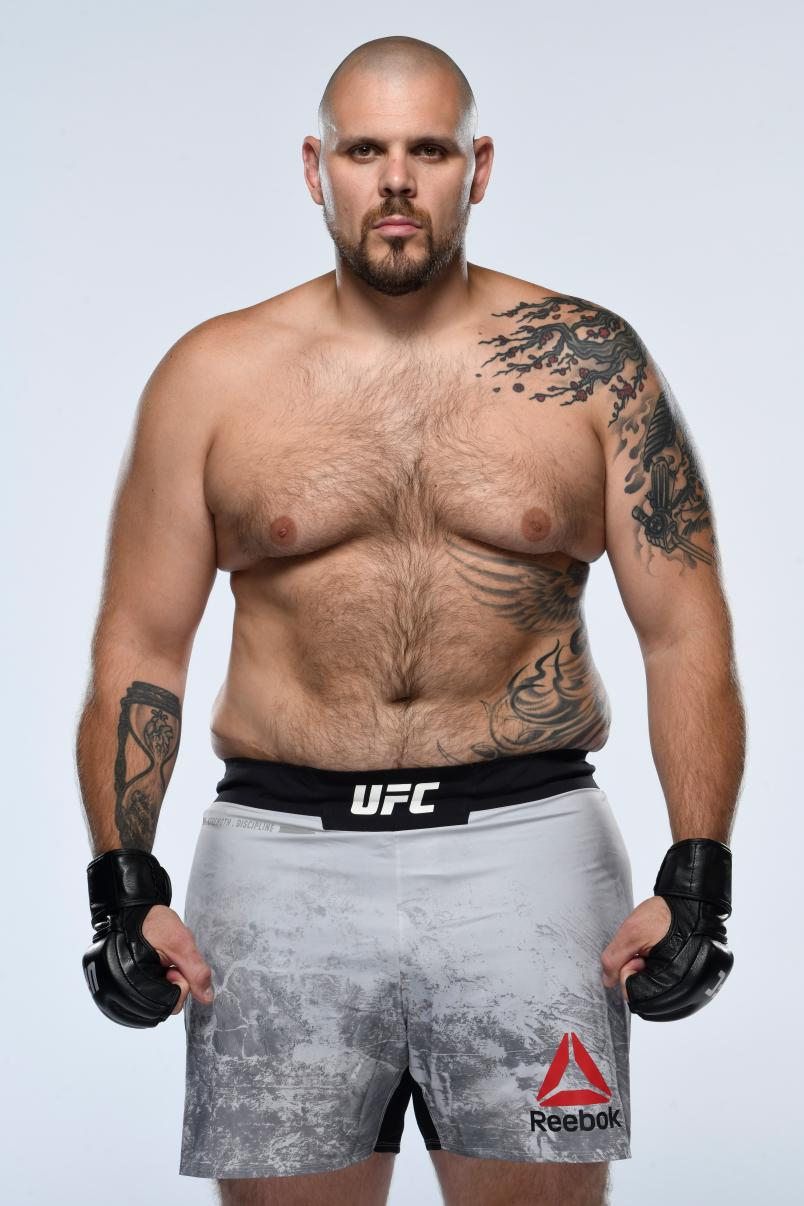 Parker Porter poses for a portrait during a UFC photo session on August 13, 2020 in Las Vegas, Nevada. (Photo by Mike Roach/Zuffa LLC via Getty Images)