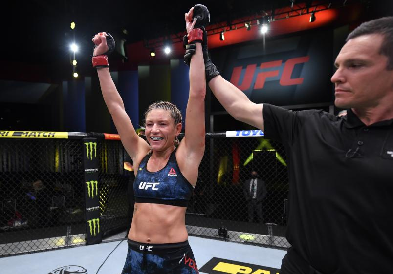 Ashley Yoder picked up her third career Octagon victory by defeating Miranda Granger at UFC Vegas 14, now she's ready to continue the momentum in 2021