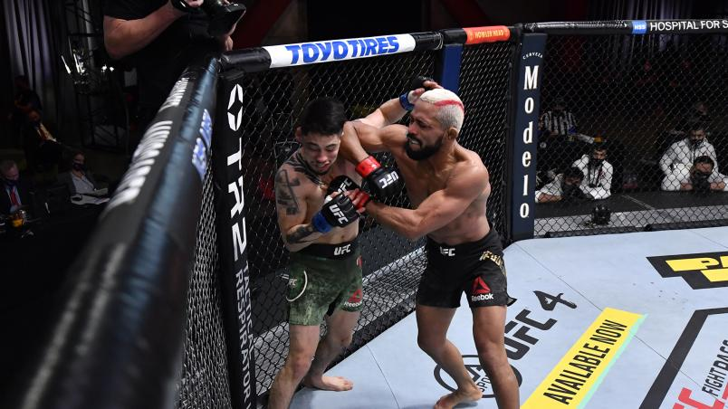 See which fighters earned a bonus on UFC 256: Figueiredo vs Moreno