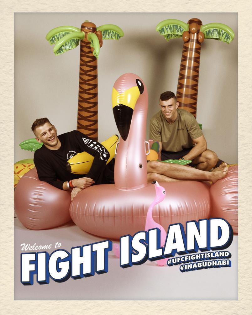 Dan Hooker on UFC Fight Island