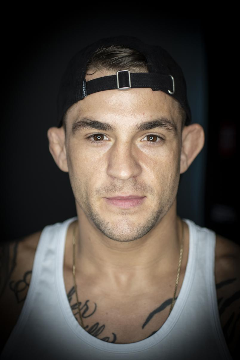 UFC 257 Check-In Portrait of Dustin Poirier (Photo by Juan Cardenas/Zuffa LLC)