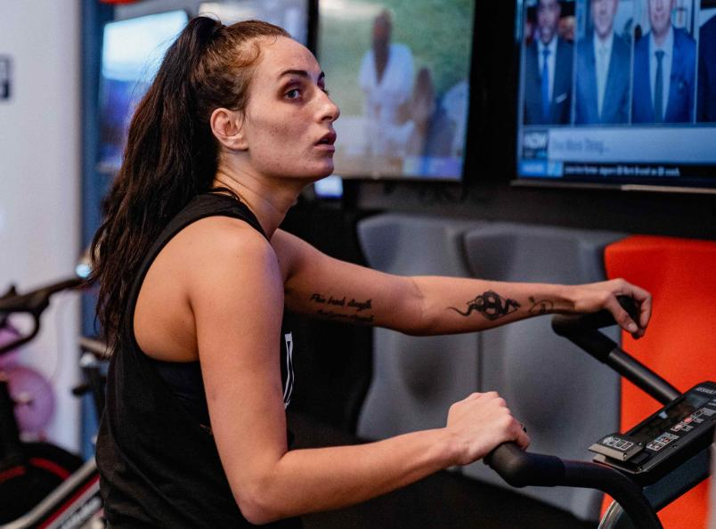 Casey O'Neill Trains At The UFC Performance Institute January 29, 2021. (Photo by Zac Pacleb)