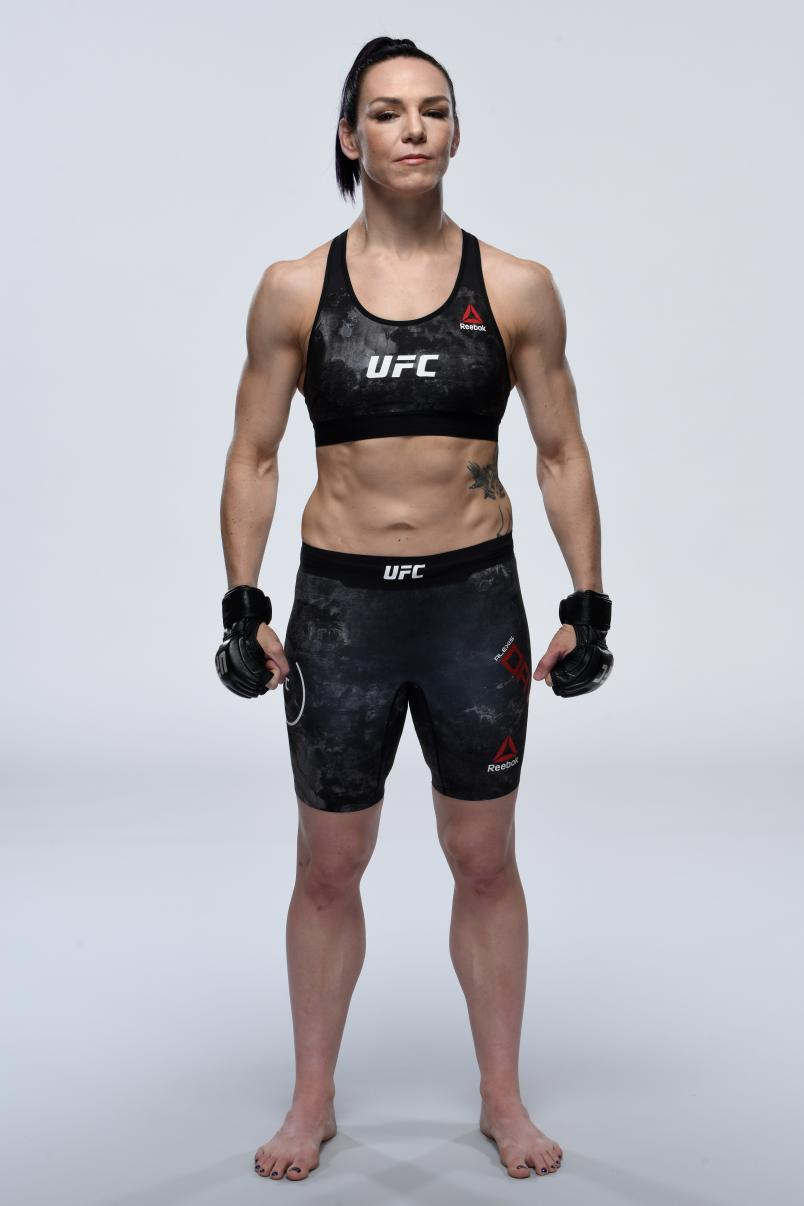 Alexis Davis of Canada poses for a portrait during a UFC photo session on March 20, 2019 in Nashville, Tennessee. (Photo by Mike Roach/Zuffa LLC)