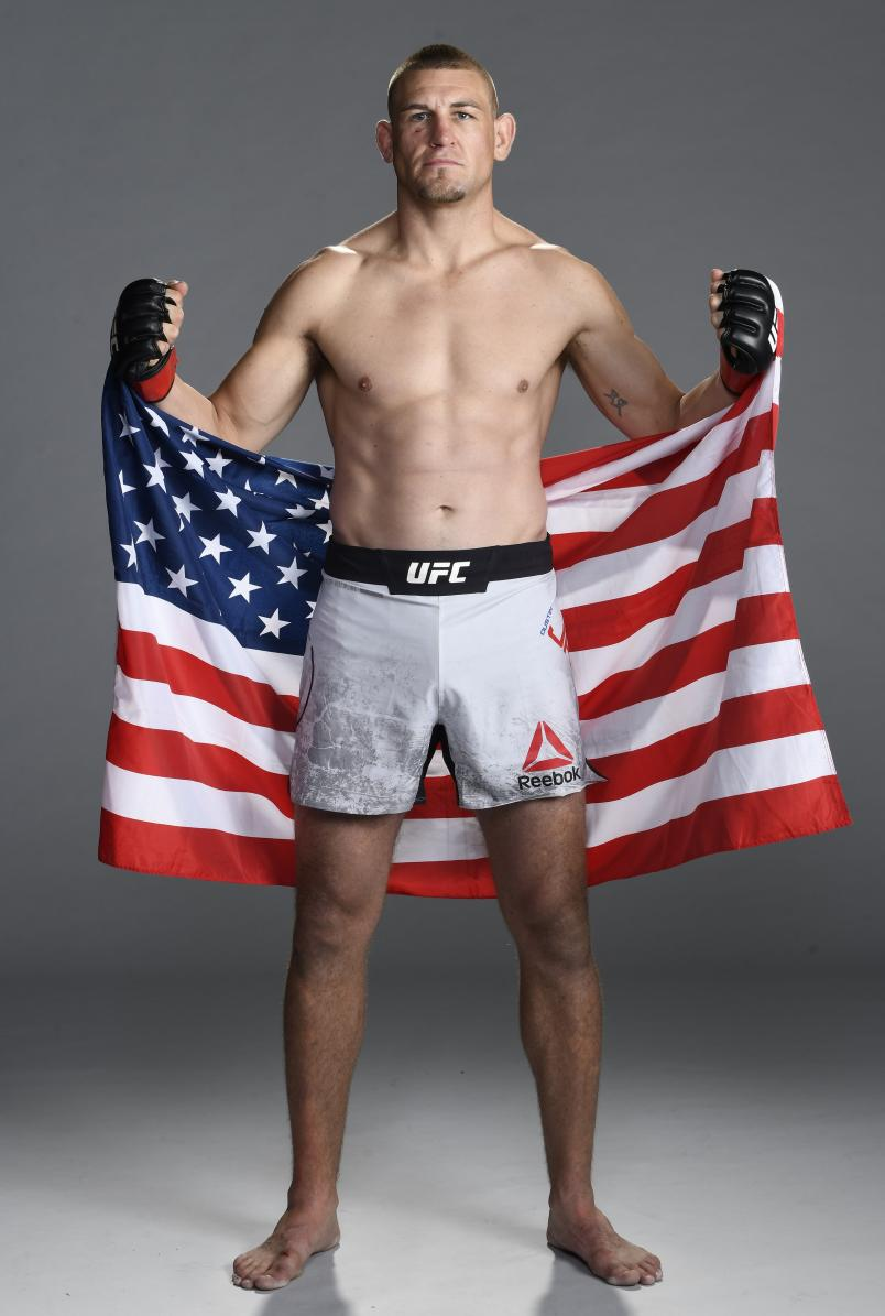 Dustin Jacoby poses for a portrait after his victory during the UFC Fight Night event at UFC APEX on October 31, 2020 in Las Vegas, Nevada. (Photo by Mike Roach/Zuffa LLC)