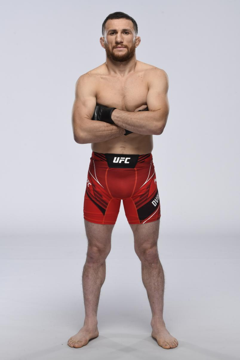 Merab Dvalishvili poses for a portrait during a UFC photo session on April 28, 2021 in Las Vegas, Nevada. (Photo by Mike Roach/Zuffa LLC)