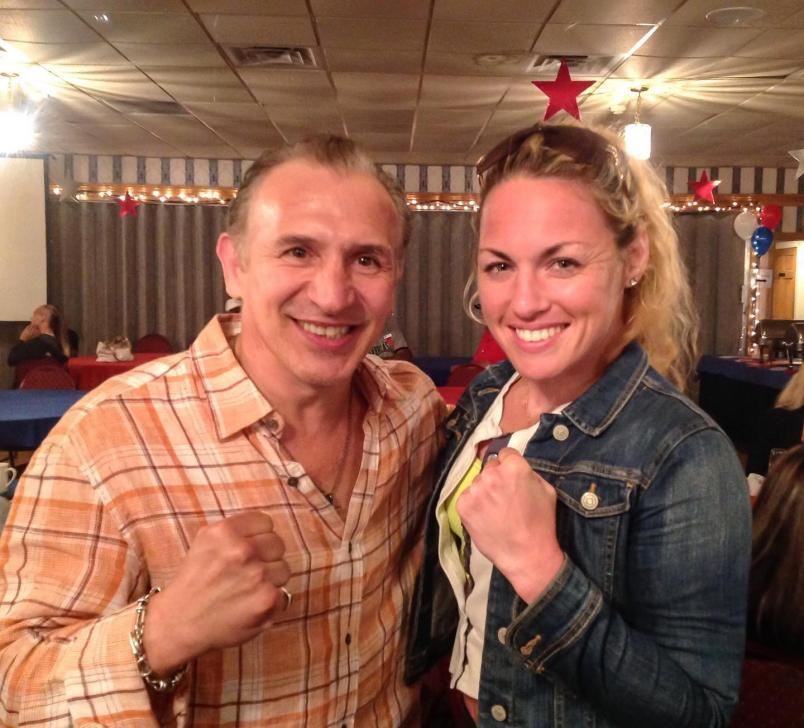 Heather Hardy poses for an picture (photo courtesy of Team Hardy)