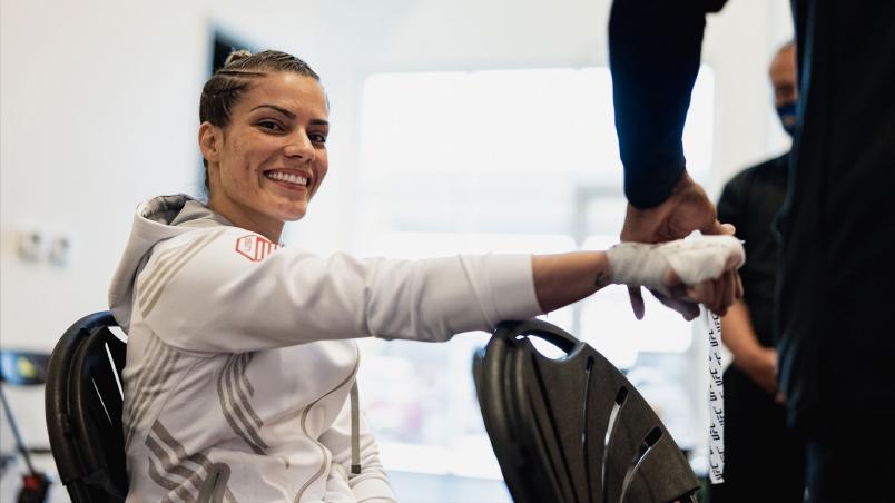 Luana Pinheiro, lutadora brasileira