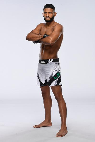 Dhiego Lima poses for a portrait during a UFC photo session on June 16, 2021 in Las Vegas, Nevada. (Photo by Mike Roach/Zuffa LLC)