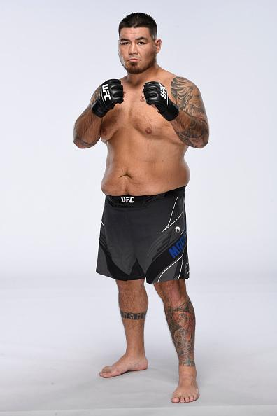 Roque Martinez poses for a portrait during a UFC photo session on June 16, 2021 in Las Vegas, Nevada. (Photo by Mike Roach/Zuffa LLC)