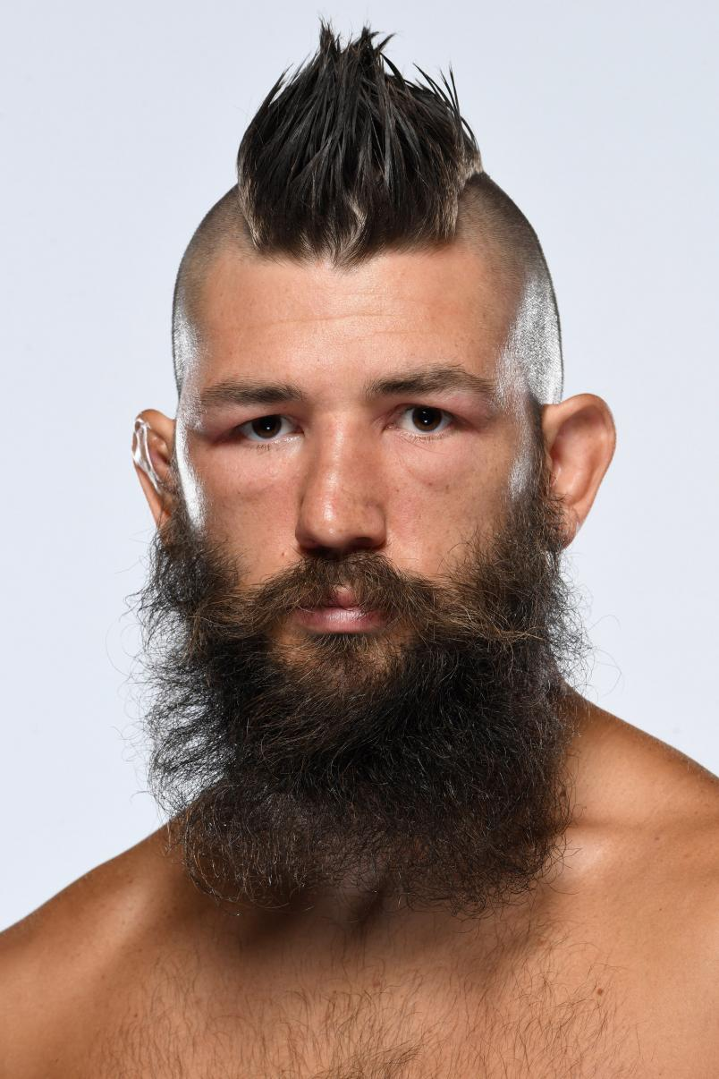 Bryan Barberena poses for a portrait during a UFC photo session on September 10, 2020 in Las Vegas, Nevada. (Photo by Mike Roach/Zuffa LLC via Getty Images)