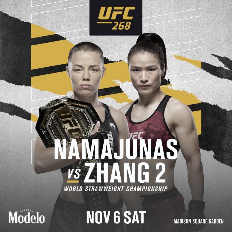 Rose Namajunas vs Zhang Weili 2