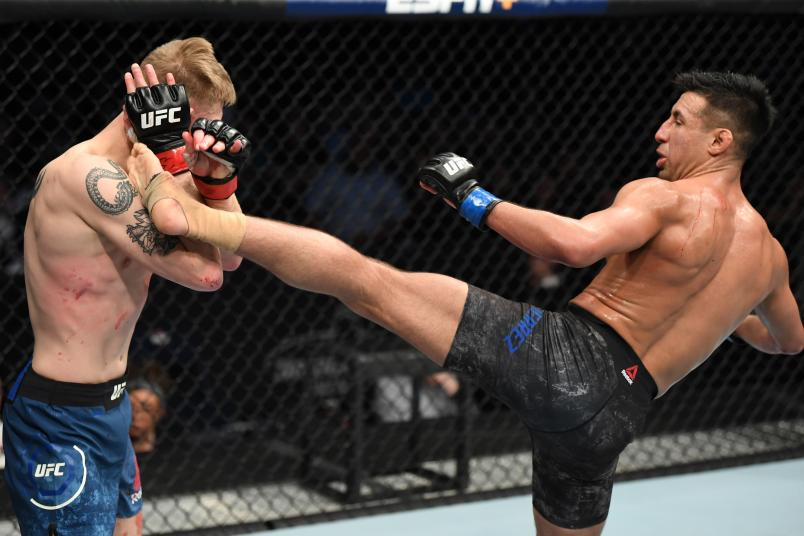 UFC Nashville Chris Gutierrez kick