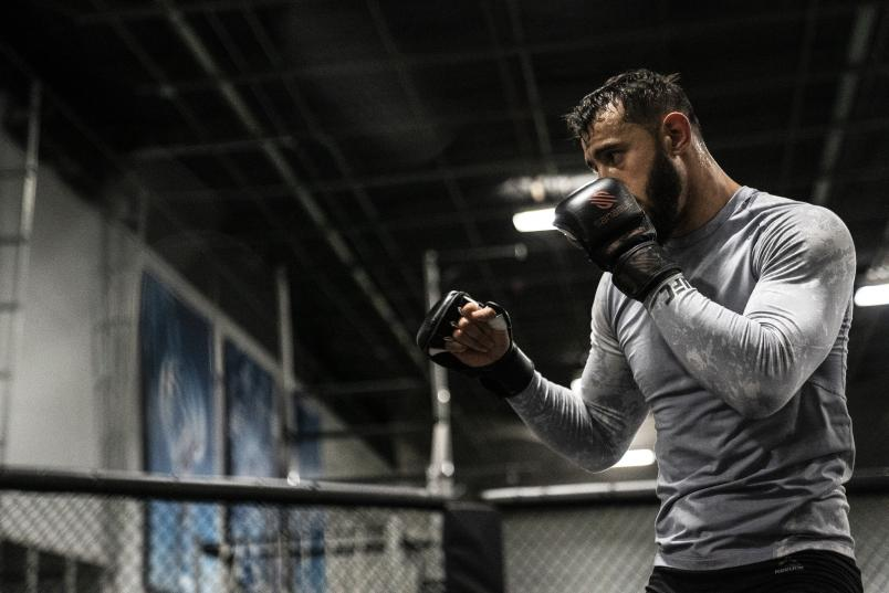 25 - Dominick Reyes late workout during UFC 247 Fight Week