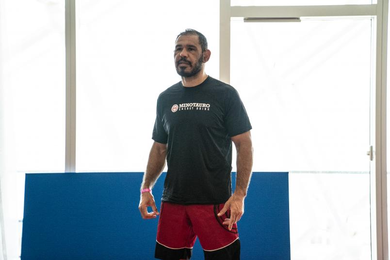 05 - Rogerio Minotouro Nogueira training during the UFC Fight Island 3