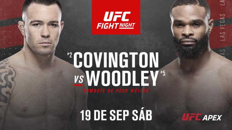 Colby covington vs Tyron Woodley spanish announcement