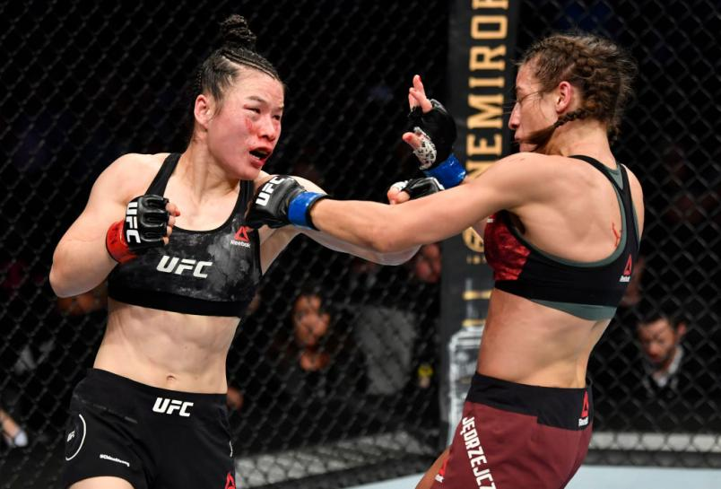 After Defending Her Title In 2020's Fight Of The Year, We Checked-In With Strawweight Champion Zhang Weili