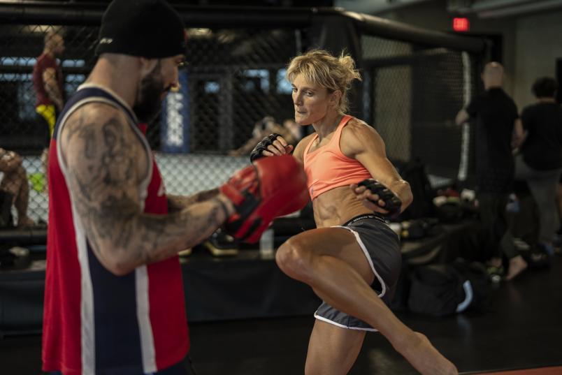 Manon Fiorot Training For UFC Vegas 28