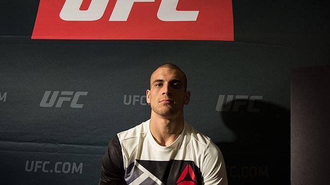 Breese at UFC 199 Media Day (Photo by Brandon Magnus/Zuffa LLC)