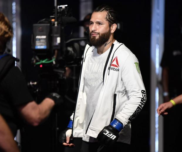 Jorge Masvidal prepares to fight Kamaru Usman in their UFC welterweight championship fight during the UFC 251 event at Flash Forum on UFC Fight Island on July 12, 2020 on Yas Island, Abu Dhabi, United Arab Emirates. (Photo by Jeff Bottari/Zuffa LLC)