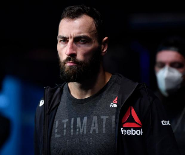 aul Craig of Scotland prepares to fight Gadzhimurad Antigulov of Russia in their light heavyweight fight during the UFC Fight Night event inside Flash Forum on UFC Fight Island on July 26, 2020 in Yas Island, Abu Dhabi, United Arab Emirates. (Photo by Jeff Bottari/Zuffa LLC)