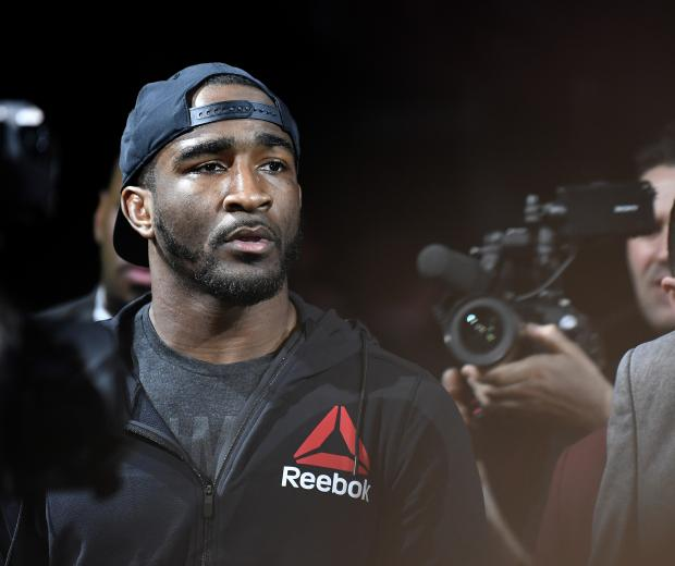 Geoff Neal walks to the octagon during the UFC 245 event at T-Mobile Arena on December 14, 2019 in Las Vegas, Nevada. (Photo by Jeff Bottari/Zuffa LLC)