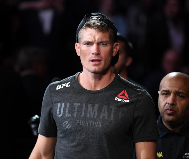Stephen Thompson walks to the Octagon prior to his welterweight bout against Vicente Luque of Brazil during the UFC 244 event at Madison Square Garden on November 02, 2019 in New York City. (Photo by Josh Hedges/Zuffa LLC)