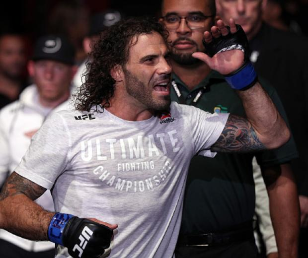 Clay Guida prepares to fight BJ Penn in their lightweight bout during the UFC 237 event at Jeunesse Arena on May 11, 2019 in Rio De Janeiro, Brazil. (Photo by Buda Mendes/Zuffa LLC)
