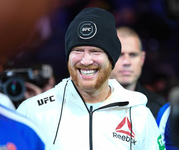 Sam Alvey walks to the Octagon prior to his light heavyweight bout against Jim Crute of Australia during the UFC 234 at Rod Laver Arena on February 10, 2019 in the Melbourne, Australia. (Photo by Jeff Bottari/Zuffa LLC)