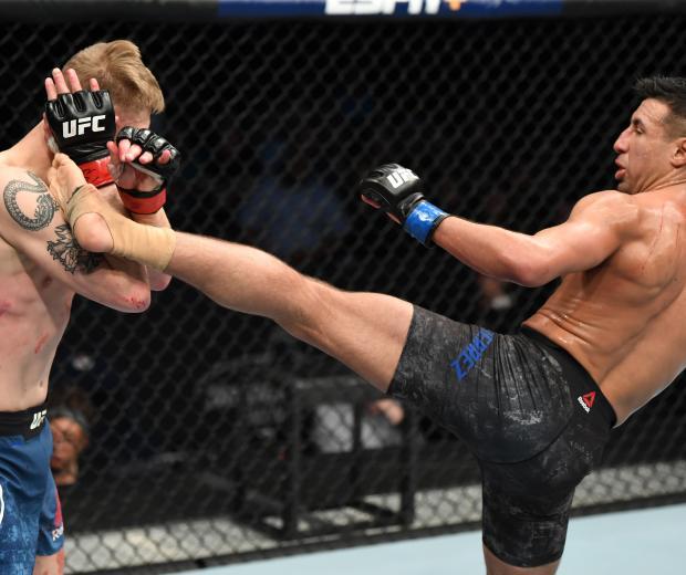 UFC Nashville Chris Gutierrez kick