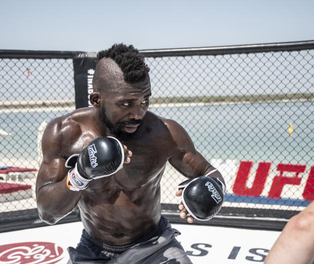 00 - Impa Kasanganay UFC Fight Island 5