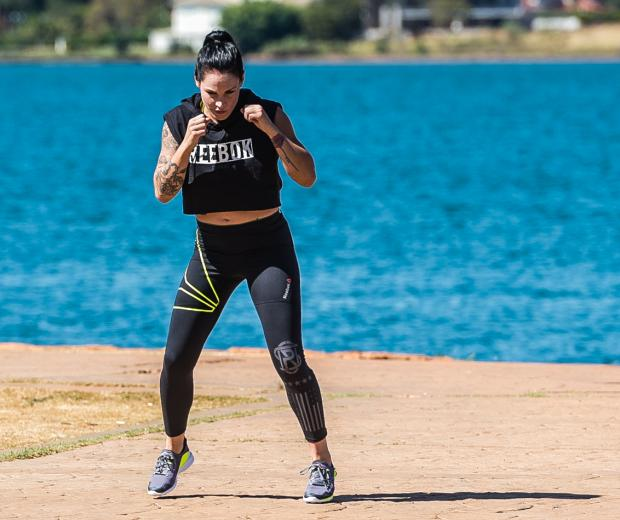 Lina Lansberg encara a brasileira Cris Cyborg na luta principal do UFC Brasília, no dia 24 de setembro.