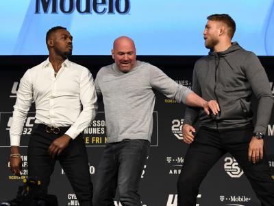 UFC232 ENCARADAS