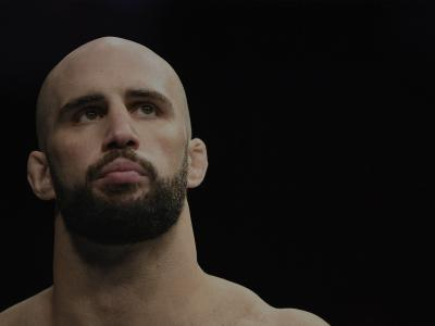 MONCTON, NB - OCTOBER 27: Volkan Oezdemir of Switzerland prepares to fight Anthony Smith in their light heavyweight bout during the UFC Fight Night event inside Avenir Centre on October 27, 2018 in Moncton, New Brunswick, Canada. (Photo by Jeff Bottari/Zuffa LLC/Zuffa LLC via Getty Images)