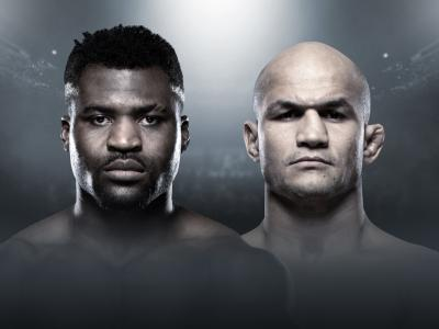 Francis Ngannou Junior Dos Santos UFC Minneapolis