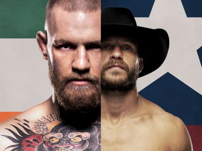 UFC 246: McGregor vs Cowboy poster