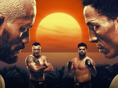 UFC Fight Island 2: Figueiredo vs Benavidez Poster