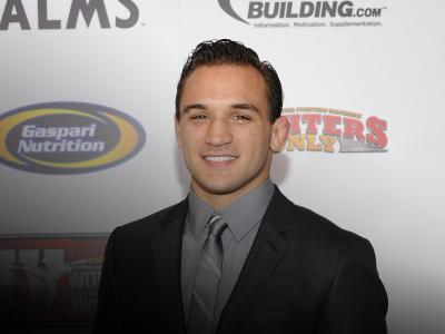 Michael Chandler arrives at the Fighters Only World Mixed Martial Arts Awards 2011 at the Palms Casino Resort November 30, 2011 in Las Vegas, Nevada. (Photo by Ethan Miller/Getty Images)