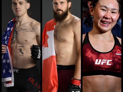 Fighters On The Rise: Brendan Allen, Tanner Boser & Yan Xiaonan