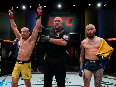 José Aldo tem boa atuação e supera Marlon Vera no UFC Vegas 17