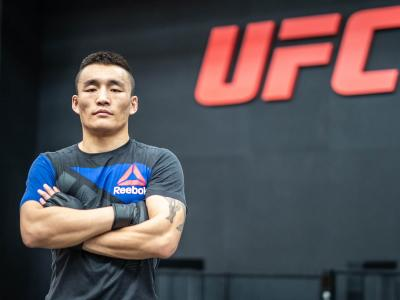 Aoriqileng At The UFC Performance Institute, Shanghai