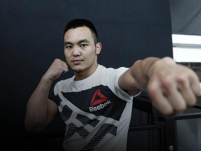 Nuerdanbieke Shayilan At The UFC Performance Institute in Shanghai, China