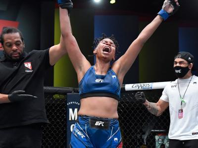 Luana Carolina mostra confiança com mudança de adversária no UFC Vegas 40