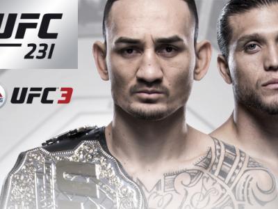 UFC 231 Max Holloway vs Brian Ortega