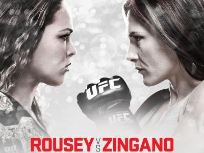 UFC 184 Ronda Rousey vs Cat Zingano