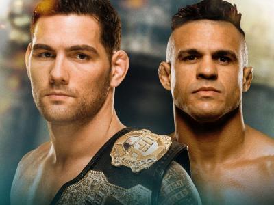 UFC 187 Chris Weidman vs Vitor Belfort