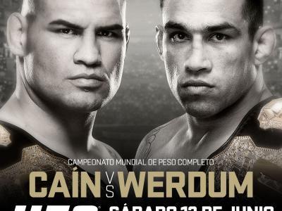 UFC 188 Cain Velasquez vs Fabricio Werdum