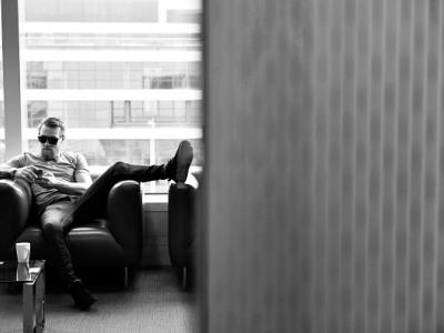 DUBLIN, IRELAND - MARCH 31:  UFC featherweight Conor McGregor of Ireland prepares to speak to media during the UFC 189 World Championship Media Availability on March 31, 2015 in Dublin, Ireland. (Photo by Jeff Bottari/Zuffa LLC/Zuffa LLC via Getty Images)